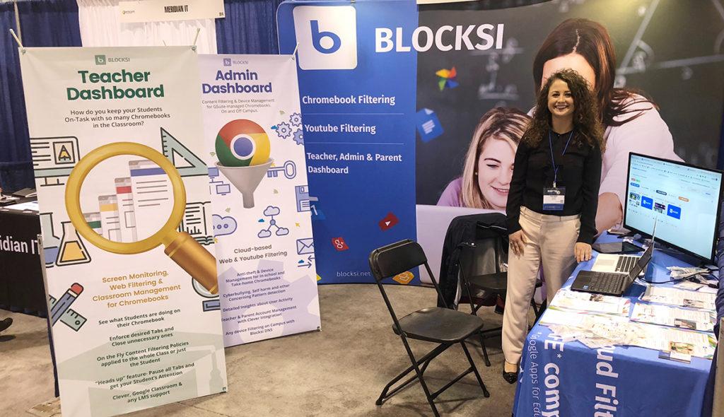 Blocksi booth